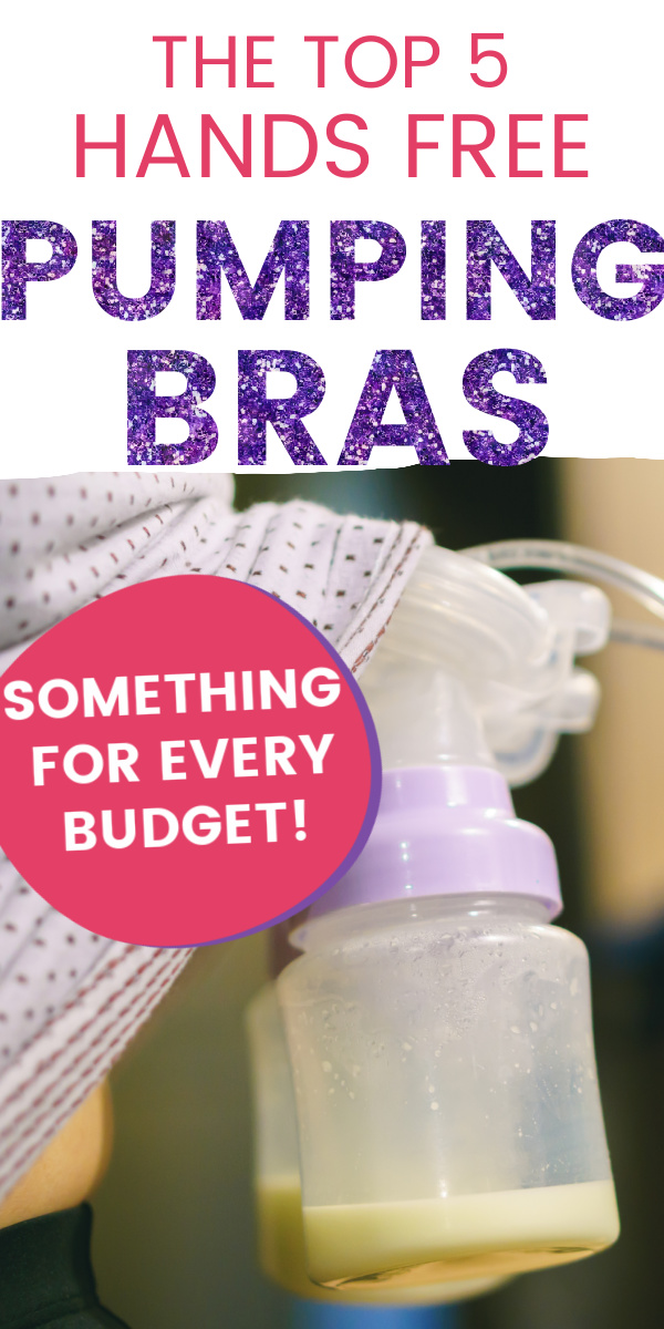 Selecting the right hands-free pumping bra can be a big decision! We've scoured the Internet for the best pumping bras around and compiled this list with our top five favorites! A must-read for pumping mamas.
