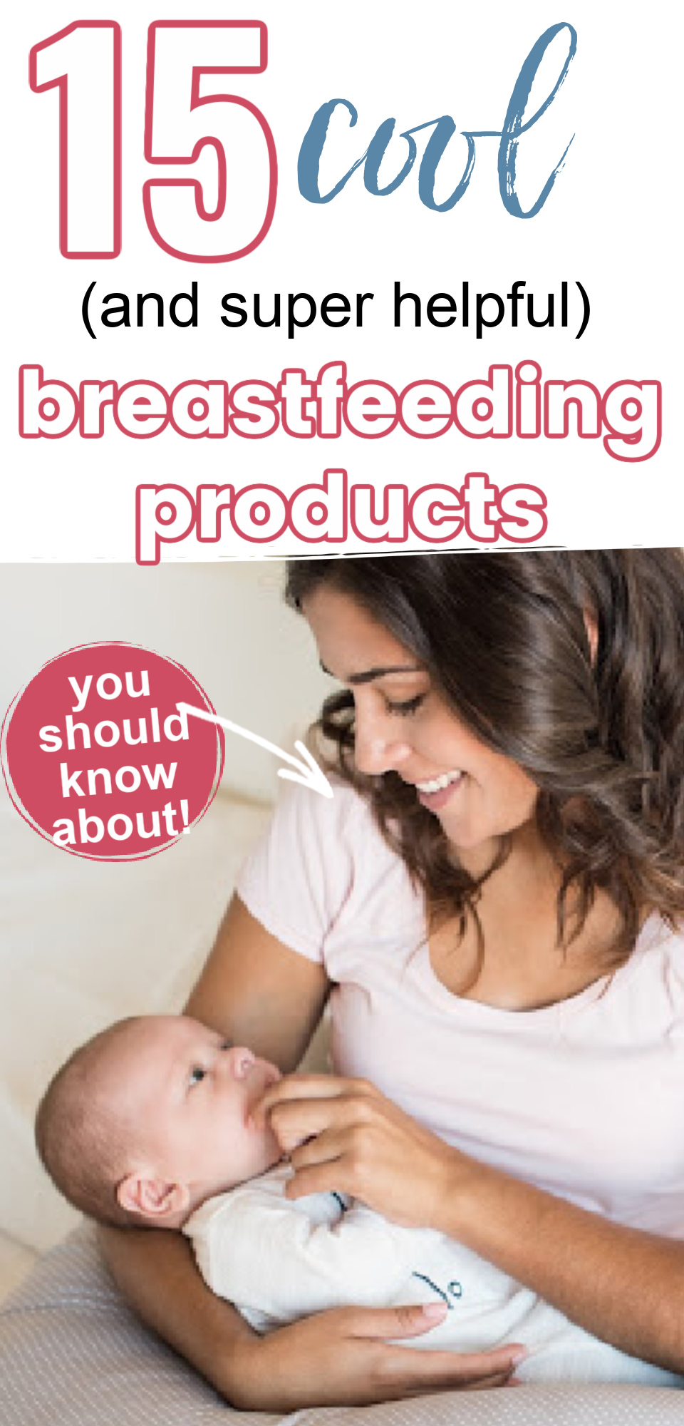 Breastfeeding Products to make breastfeeding easier? Yes, please! When preparing for the arrival of your little one you may want to know what you will need to help with breastfeeding. This list is full of amazing, helpful products that will make breastfeeding easier for you!