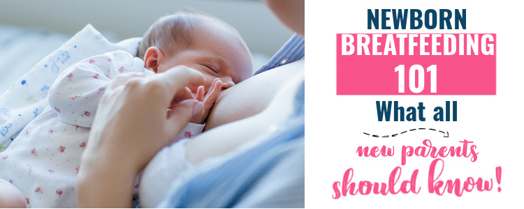 newborn breastfeeding tips