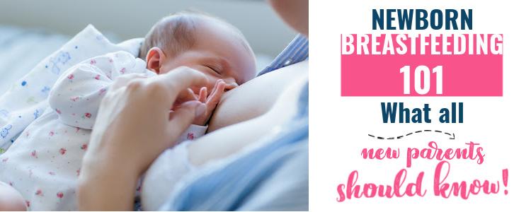 newborn breastfeeding