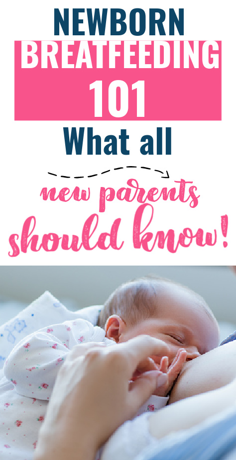 Breastfeeding a newborn can have its challenges beyond normal baby care - are they getting enough? Should the newborn be on a schedule? Is their latch okay? This post shares all the best tips for newborn breastfeeding to help you get off on the right foot.