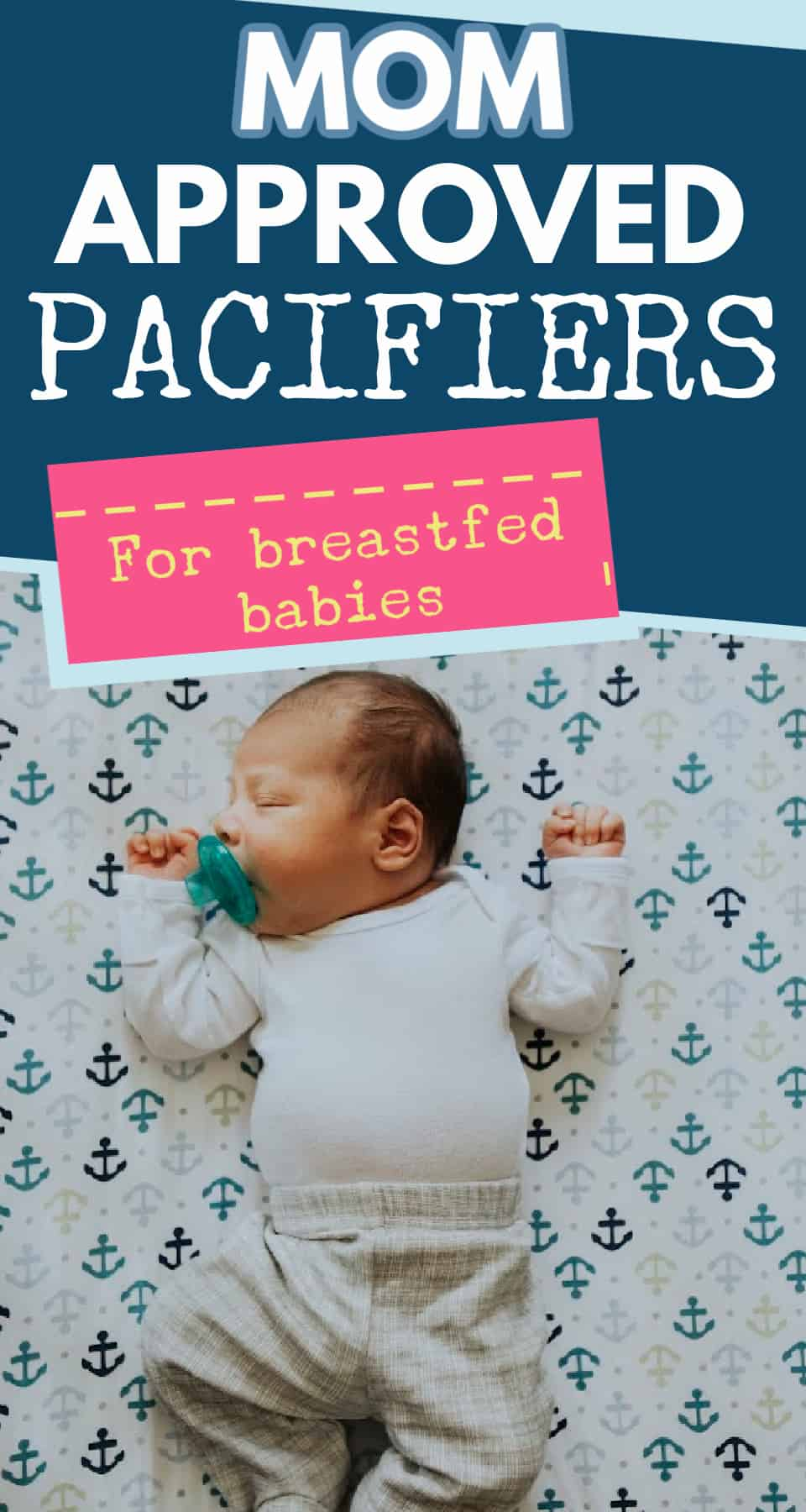 Not sure what is the best pacifier for a breastfeeding baby? Here are the top choices from breastfeeding mothers to help you decide - these options tend to encourage breastfeeding while offering a great soothing option.