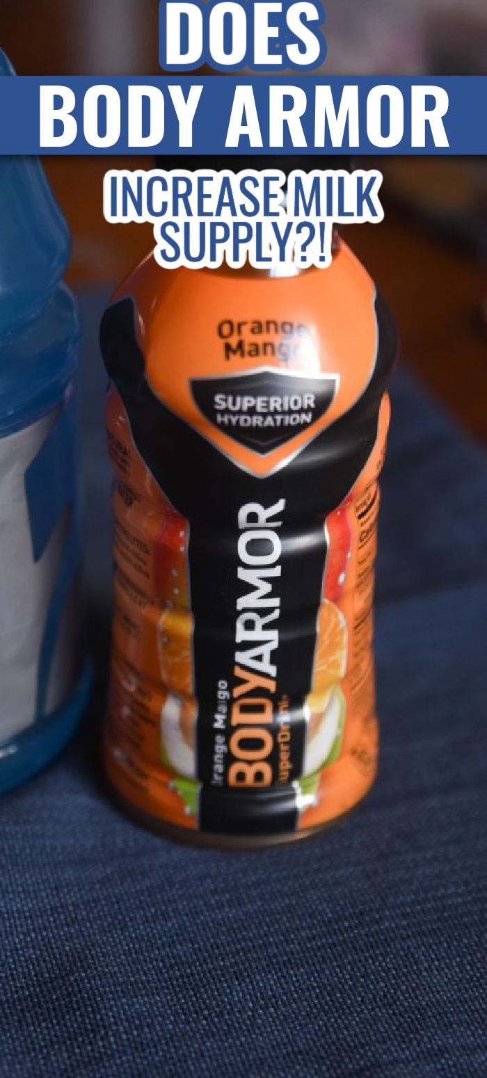 Body Armor for increasing milk supply is a very popular recommendation - but is it actually legit? Here's what I think!
