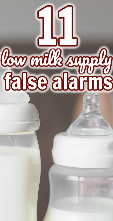 Is your milk supply low - or is something else going on? Here are 10 common issues breastfeeding parents encounter that might make you think your milk supply low...when it really isn't.