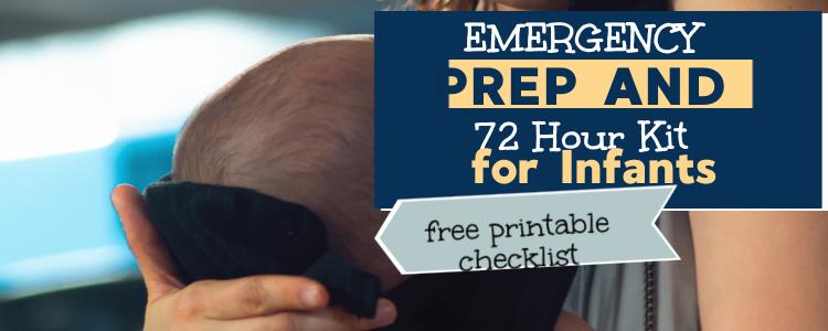 emergency prep for babies