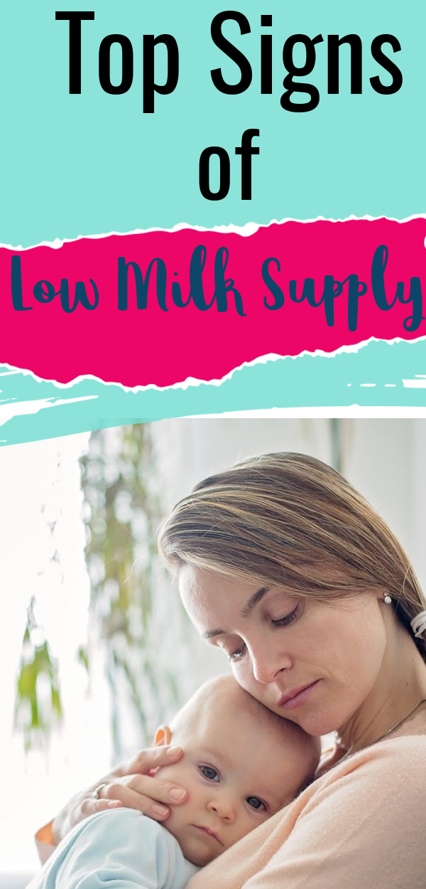 Top Signs of Low Milk Supply to Worry About