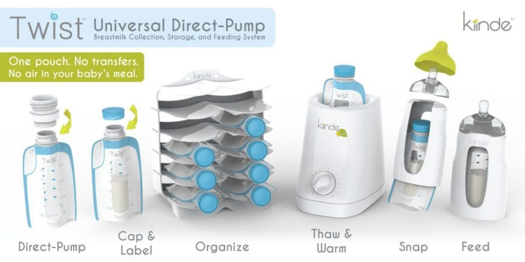 kiinde breast milk set
