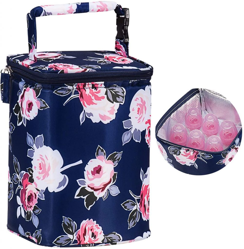 Momcozy Insulated Breastmilk and Bottle Cooler Bag