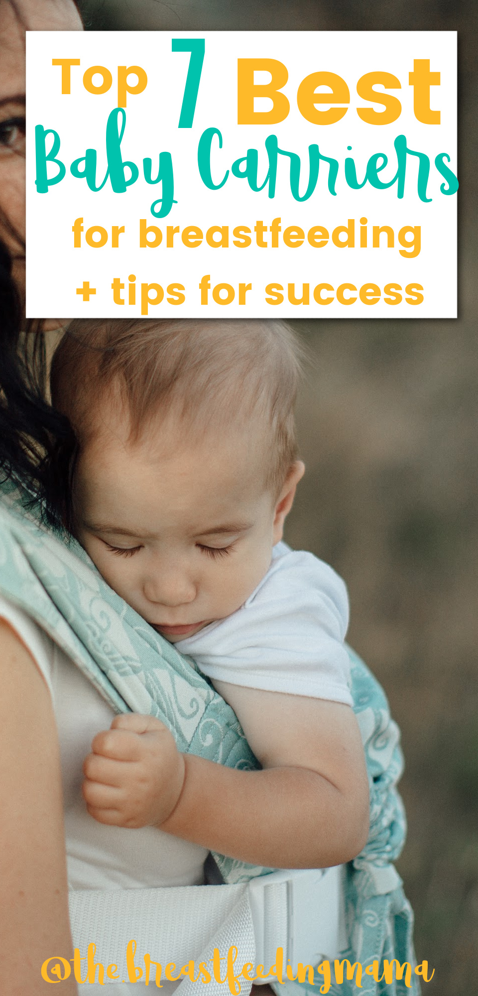 As a breastfeeding mama you know that when you have a hungry baby you need to feed them anytime and anywhere. And that might mean while you are out and about. There are many types of baby carriers- but not all are good for nursing moms. In this post, we'll share our favorite breastfeeding-friendly baby carriers, along with some tips for babywearing!