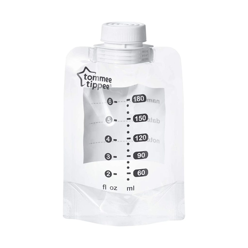 tommee tipee breast milk bags