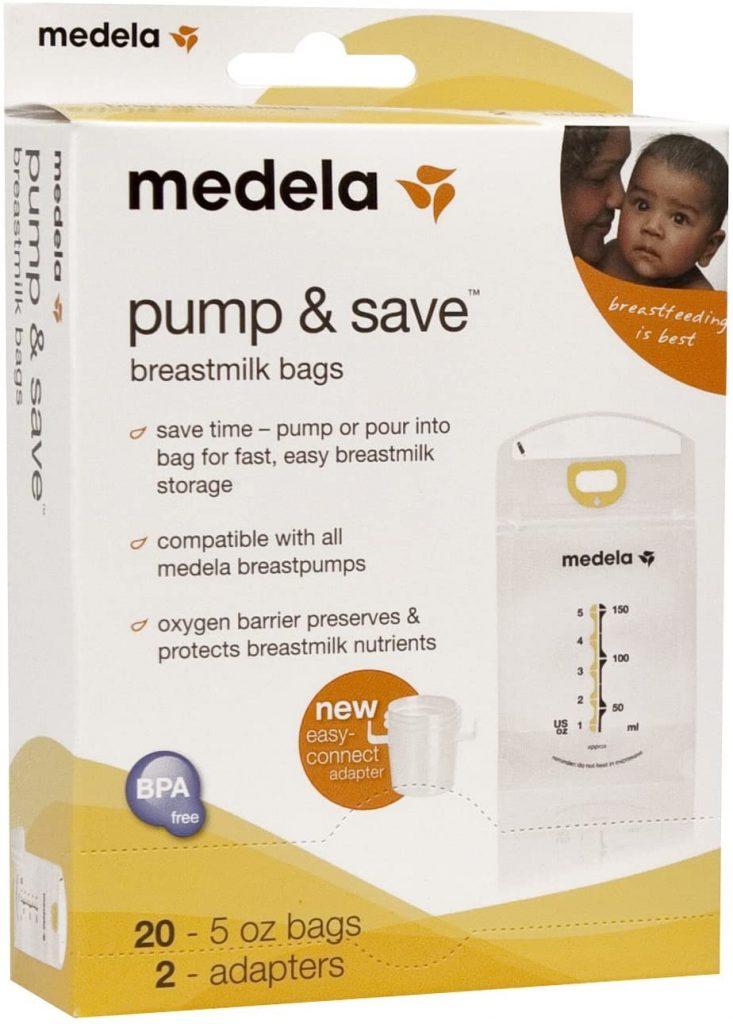 medela breast milk bags