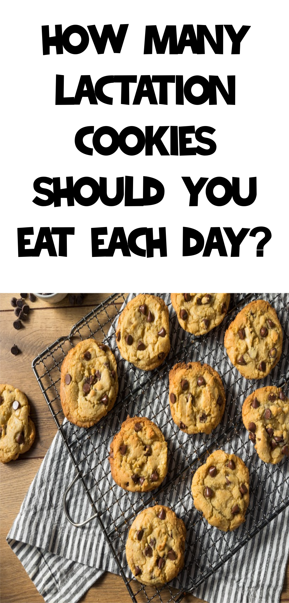 How Many Lactation Cookies Should You Eat A Day