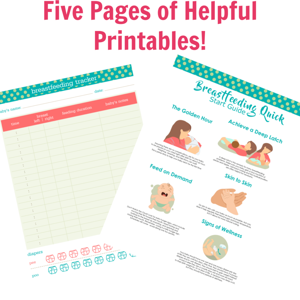Five Pages of Helpful Printables